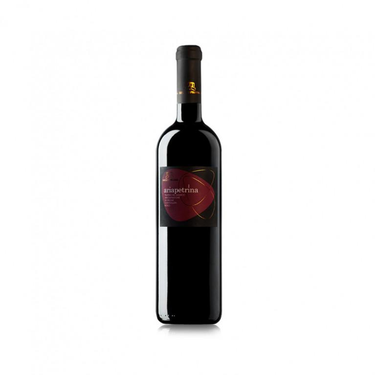"""Bottiglia Falerno del Massico Rosso """"ARIAPETRINA"""" DOC 2009"""