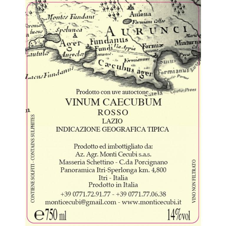 VINUM CAECUBUM LAZIO ROSSO