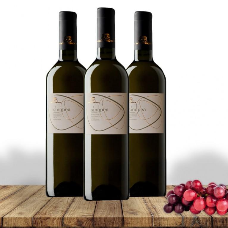 Falanghina IGT SINOPEA 2015 Roccamonfina - 3 Bottiglie