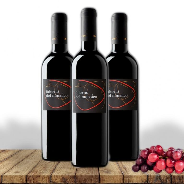 Falerno del Massico rosso DOC 2011 - 3 Bottiglie