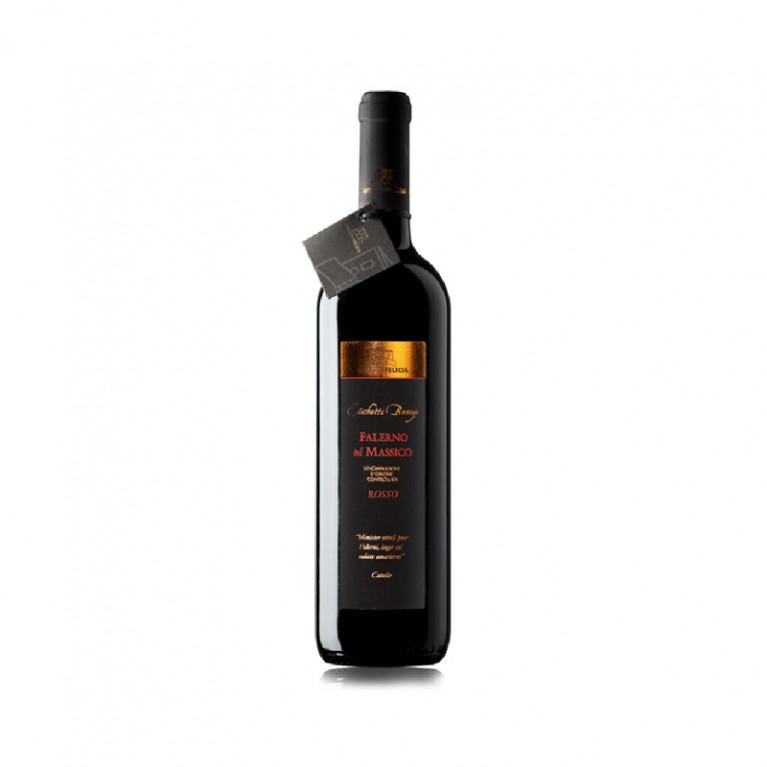 """Bottiglia Falerno del Massico """"Etichetta Bronzo"""" rosso DOC Riserva 2010"""