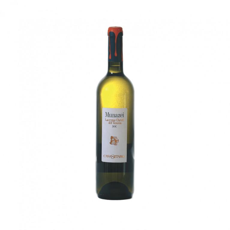 Bottiglia Munazei Lacryma Christi del Vesuvio Bianco DOC 2015