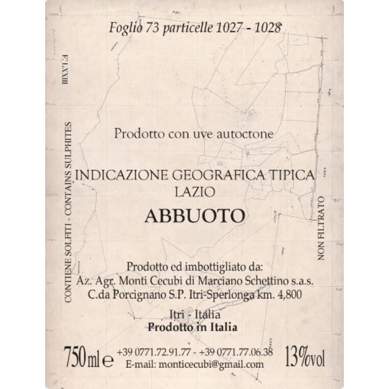 ABBUOTO LAZIO ROSSO IGT