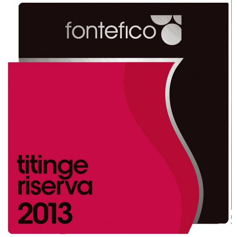 """Bottiglia MONTEPULCIANO D'ABRUZZO RISERVA DOC """"TITINGE"""" 2013"""