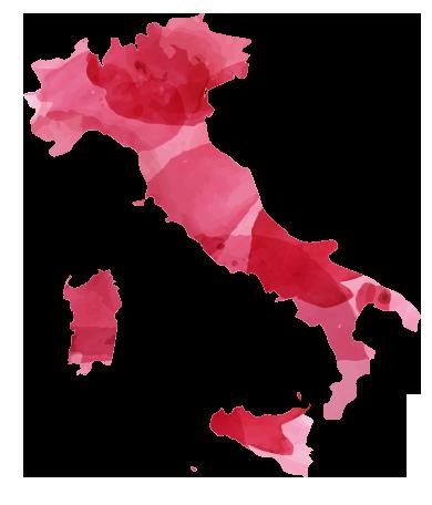 Cartina del Vino regioni italiane